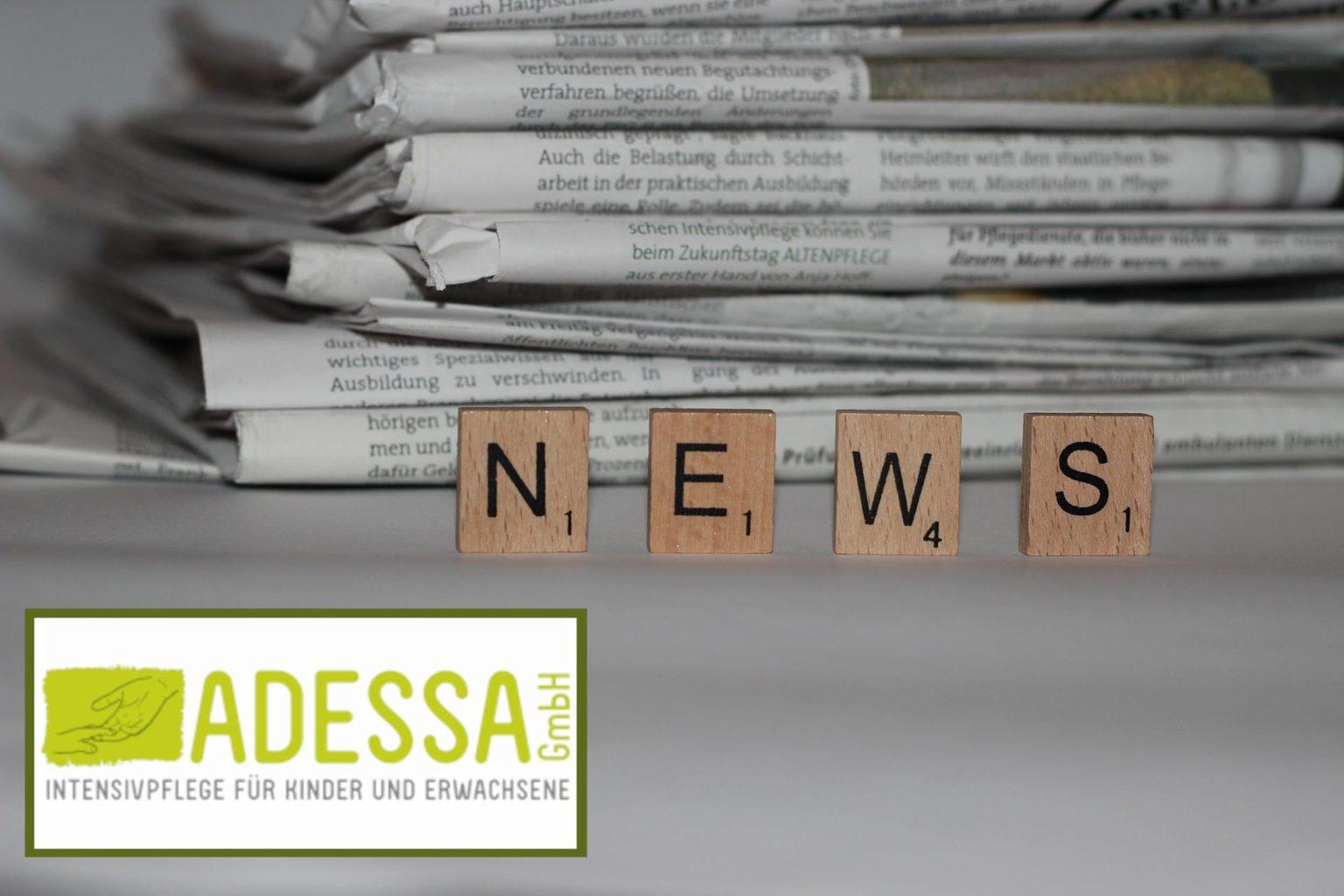 Adessa Intensivpflege in der Zeitung